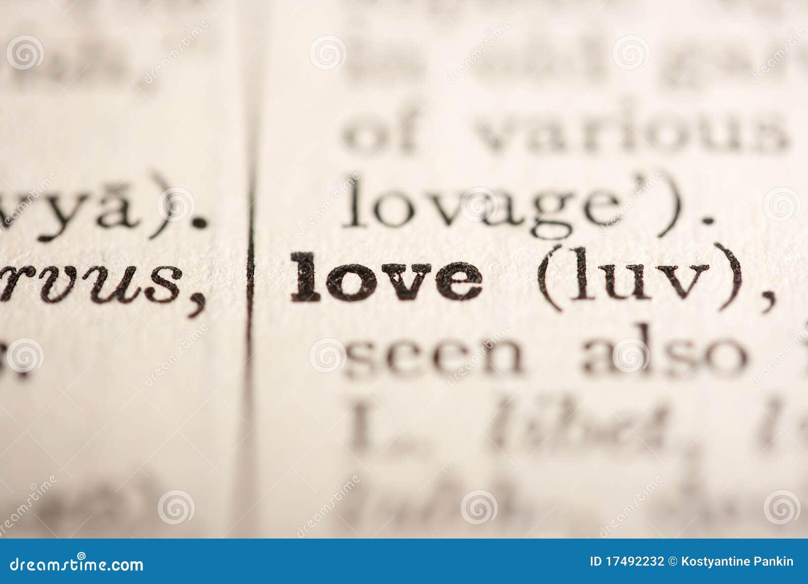 Miłości słowo