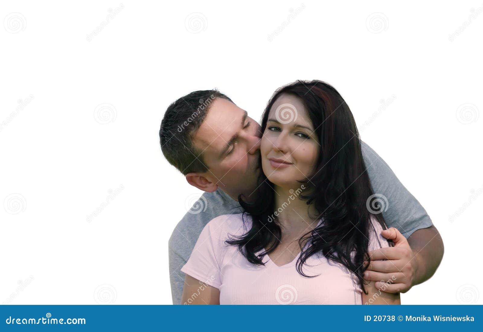 Miłych ludzi pocałunków