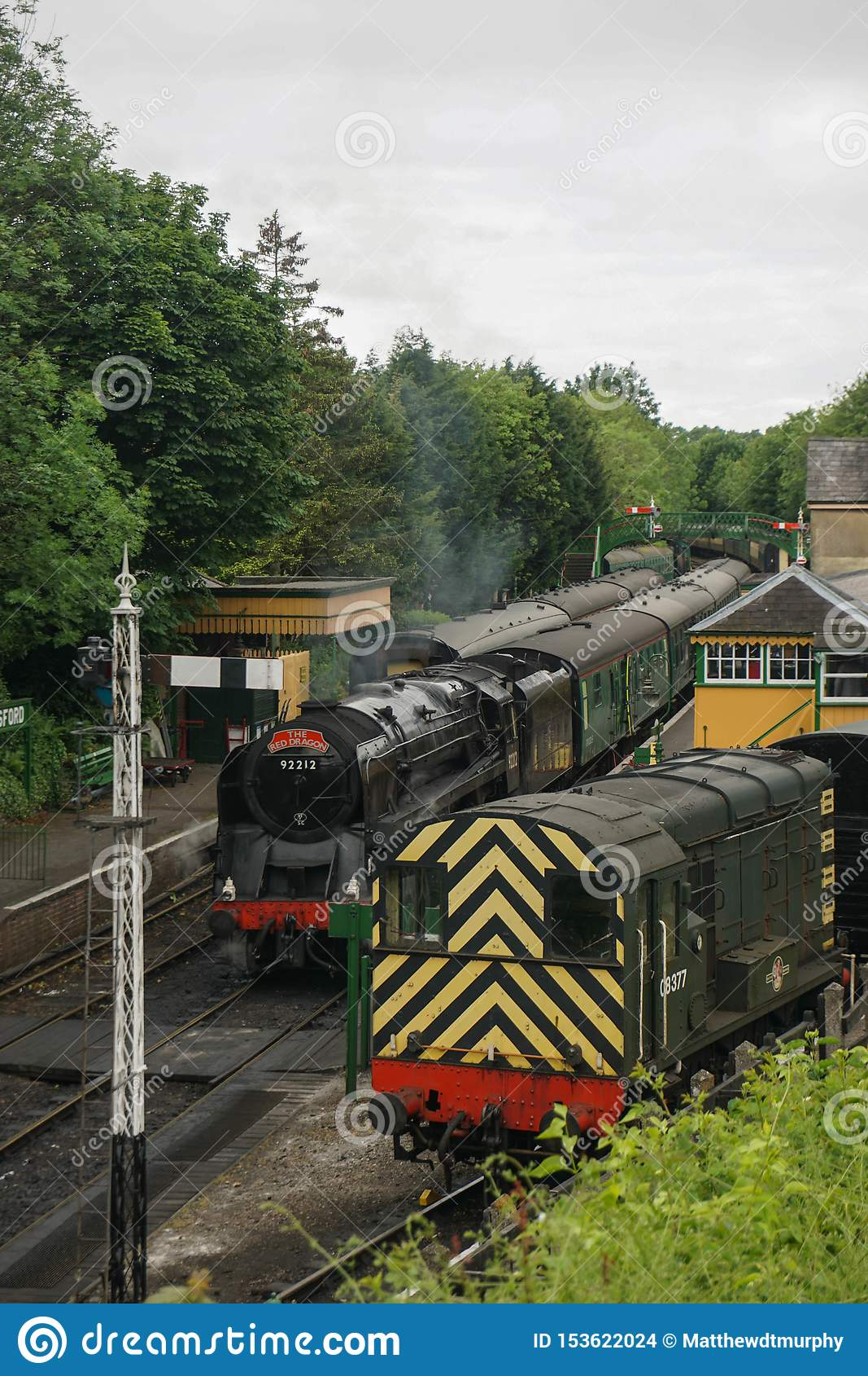 Mi chemin de fer de vapeur de Hants