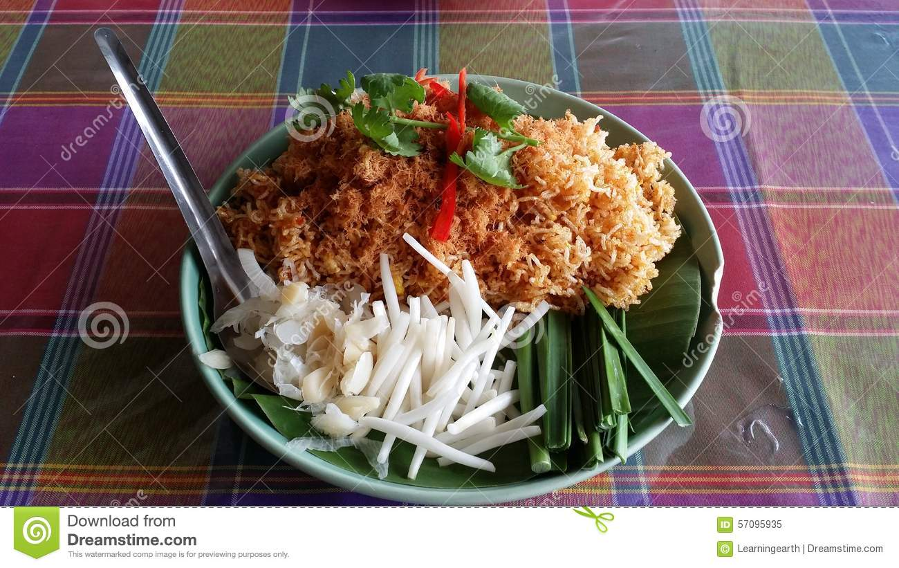 Mi krop stock photo image 57095935 for Ayuttaya thai cuisine
