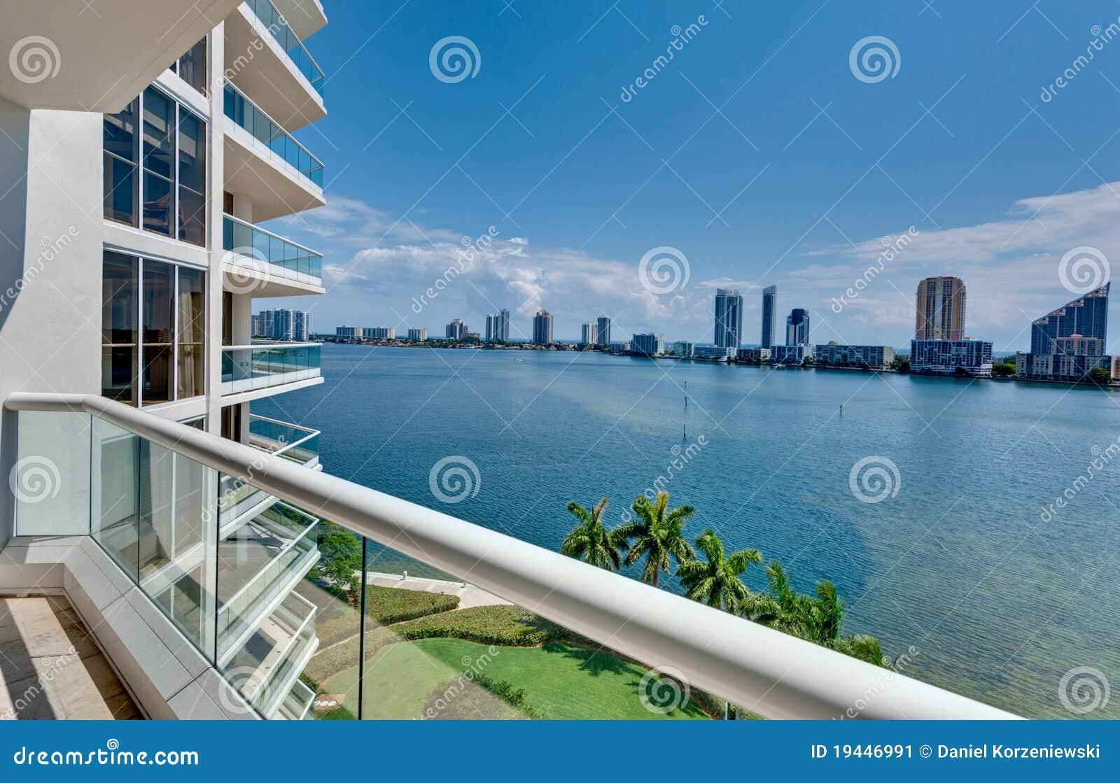 Miami Beach Balcony