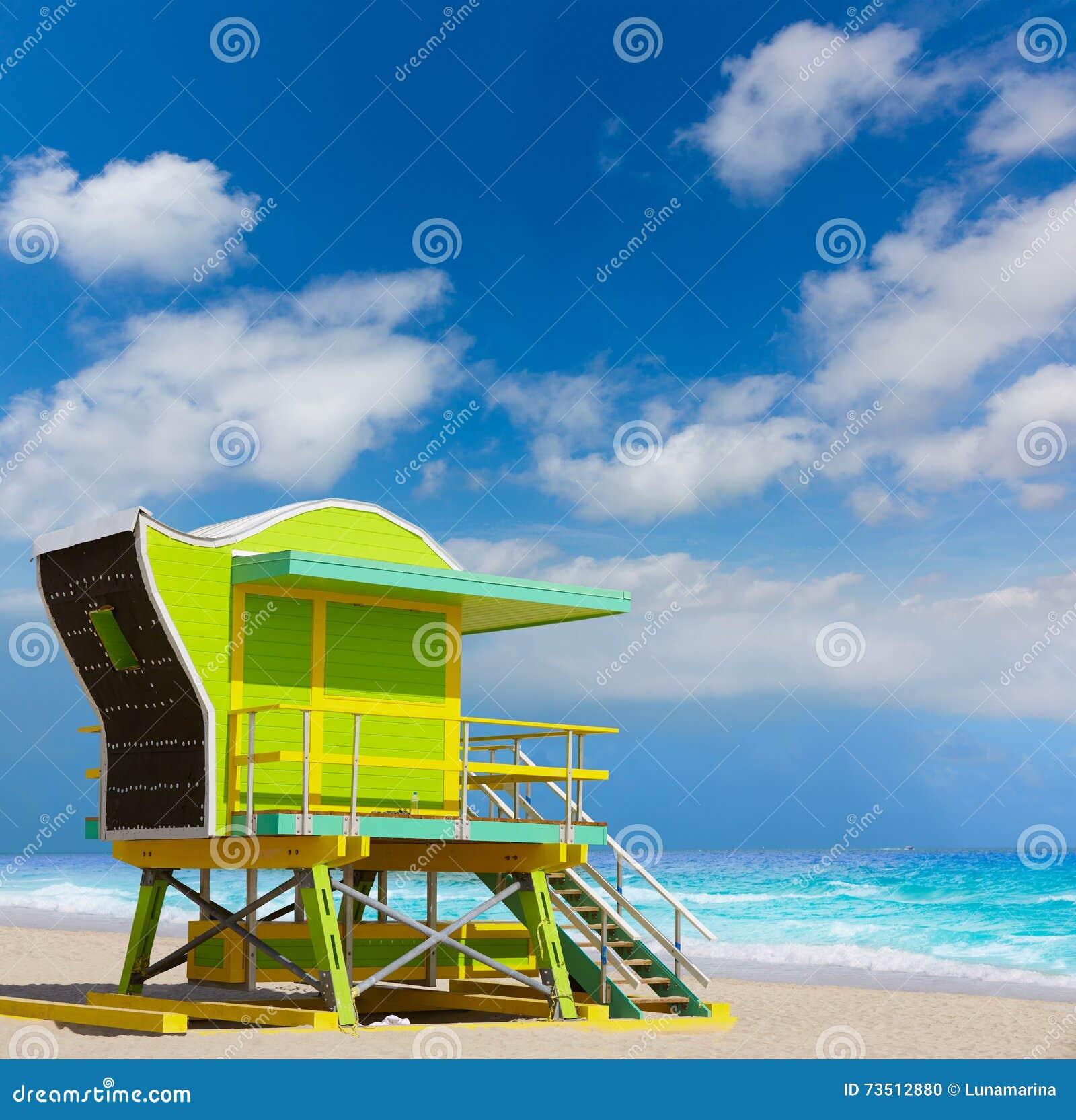 Tower House Miami Beach: Miami Beach Baywatch Tower South Beach Florida Royalty