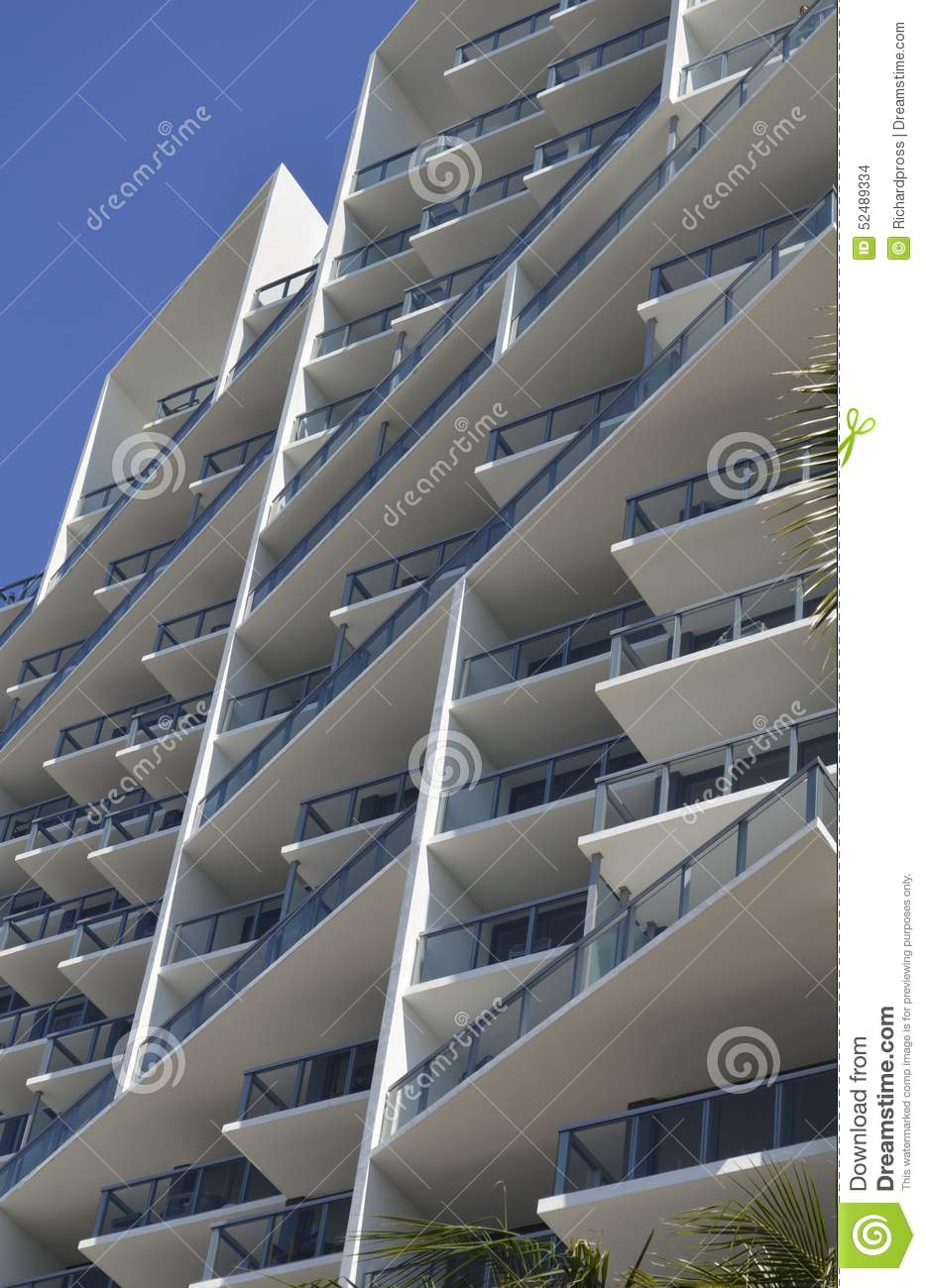 Modern Architecture Miami miami beach modern architecture stock photo - image: 52489334