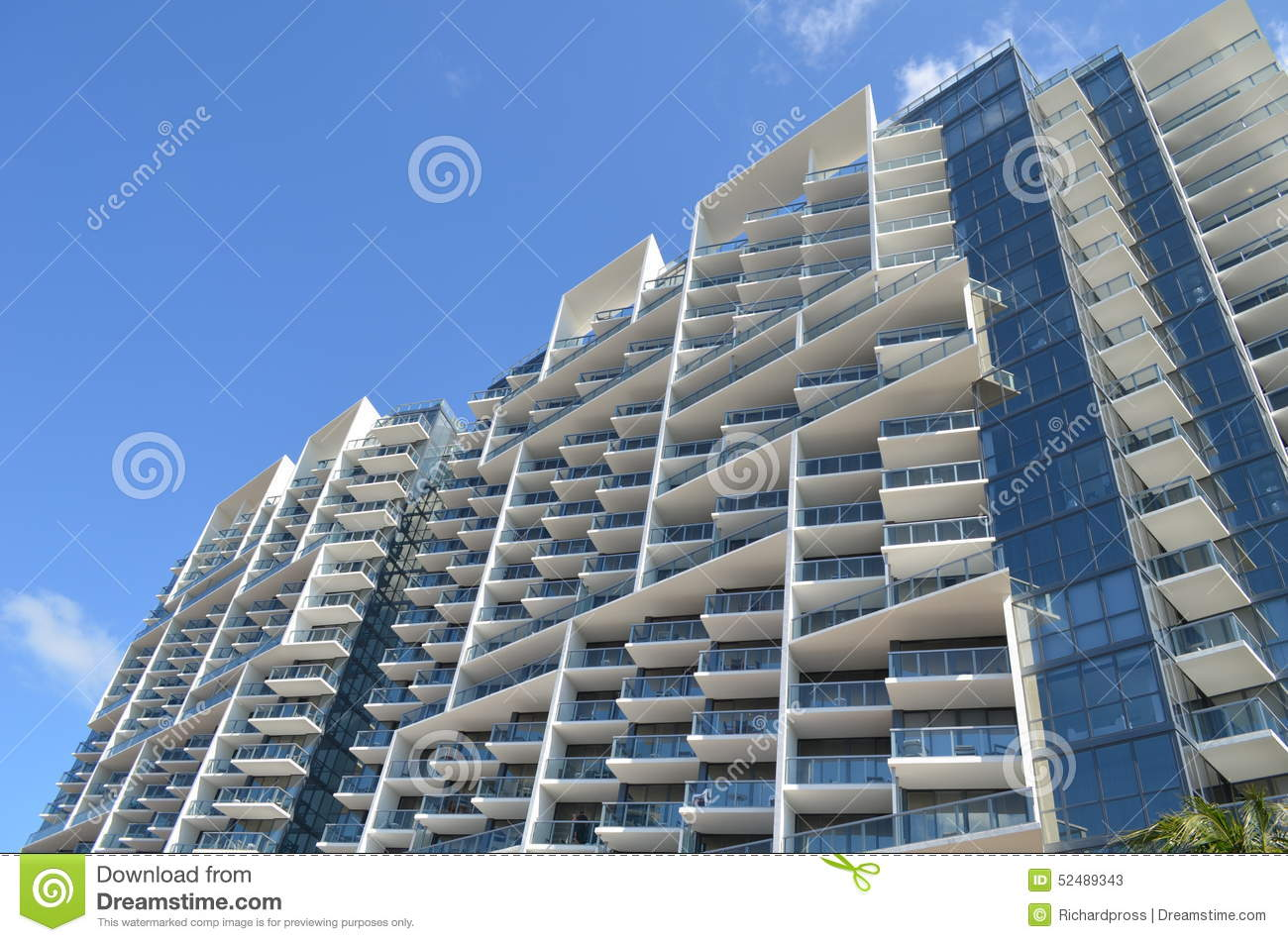 Modern Architecture Miami miami beach modern architecture stock photo - image: 52489343