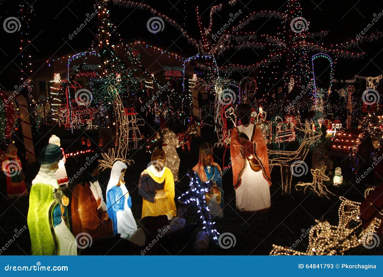 download miami christmas lights editorial stock photo image of celebration 64841793