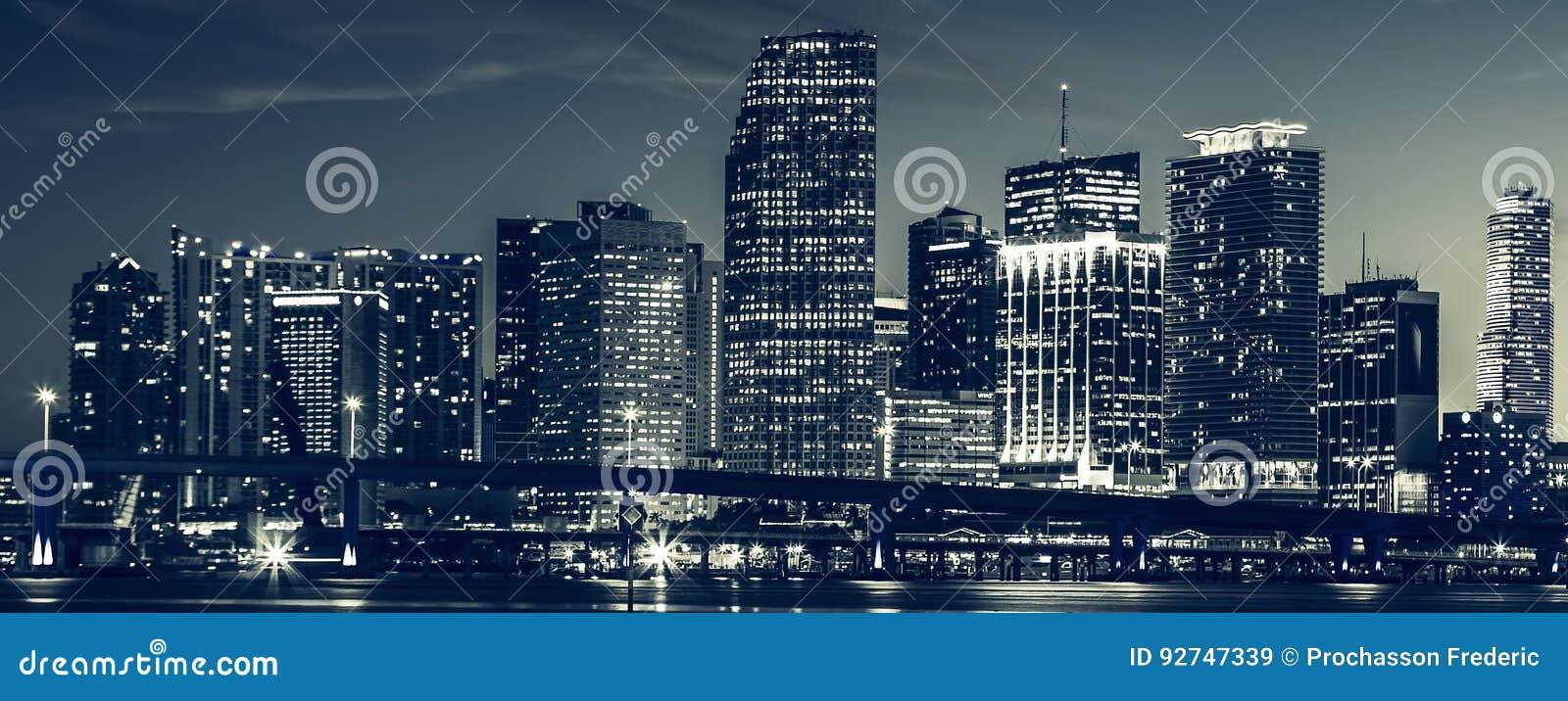 Miami-Stadtskyline