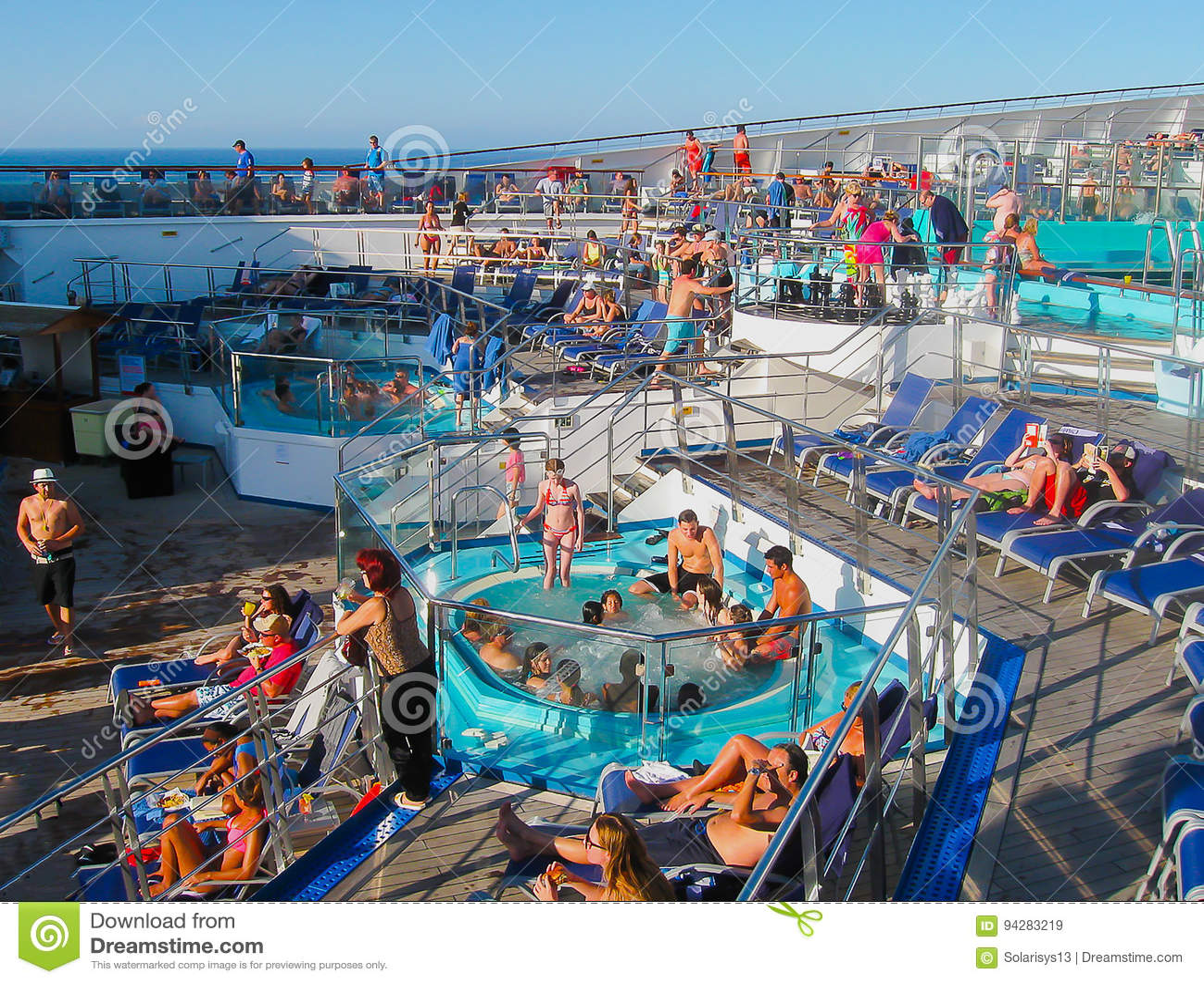 Miami, USA - January 12, 2014: Carnival Glory Cruise Ship ...