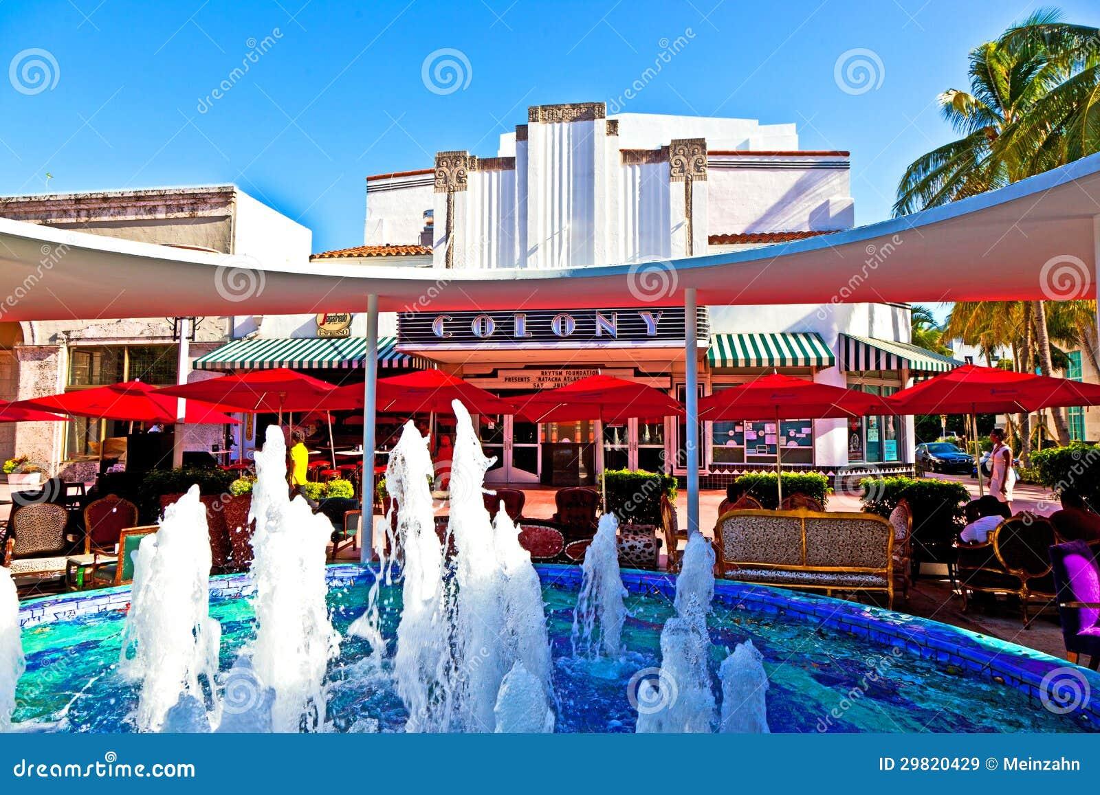Colony Theater South Beach Miami
