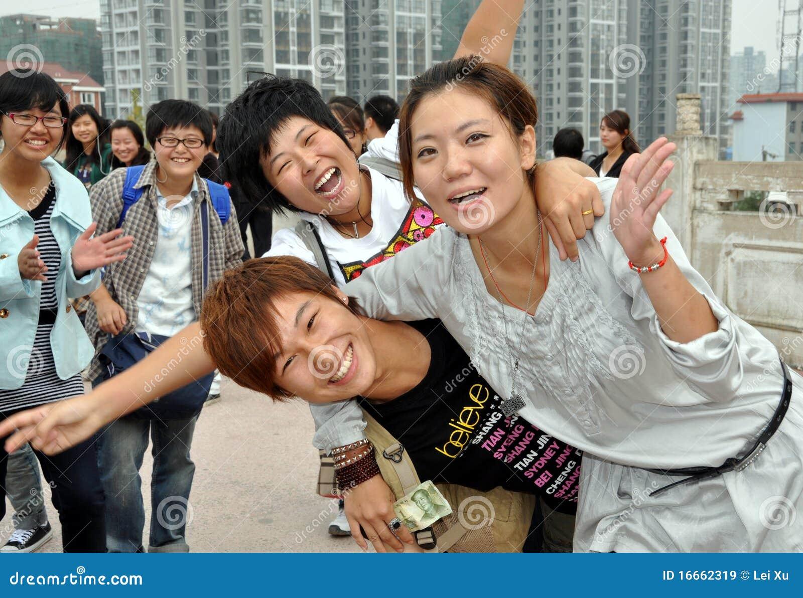 Mianyang China  City new picture : Mianyang, China: Students At Sheng Shui Temple Editorial Stock Image ...