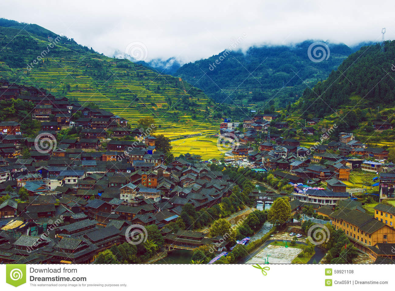 The miao scenery