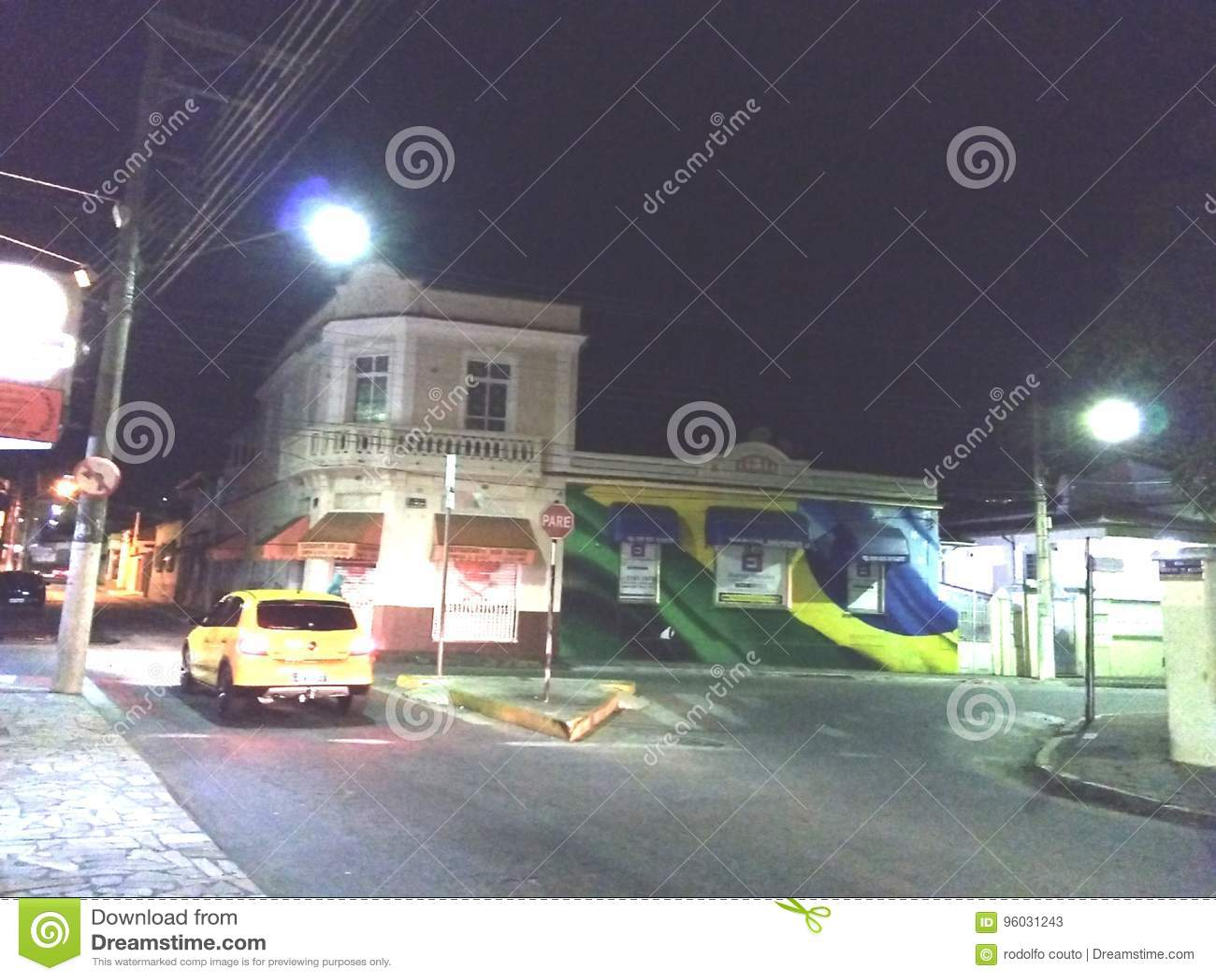 Miasta Brasil samochód