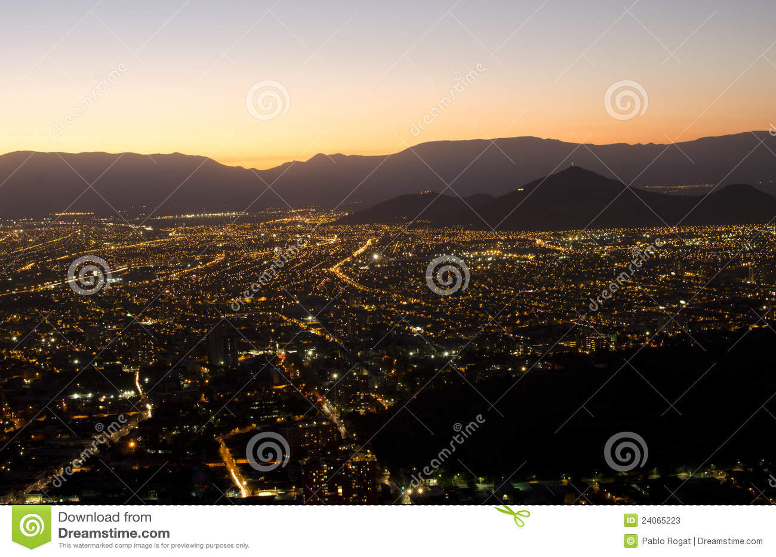 Miasta gór noc