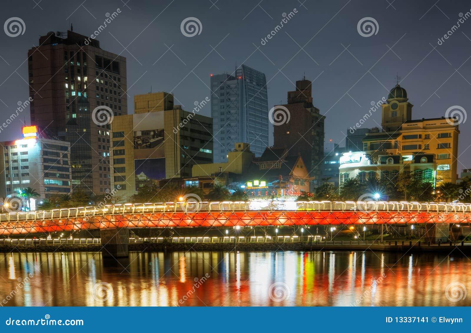 Miasta koloru noc