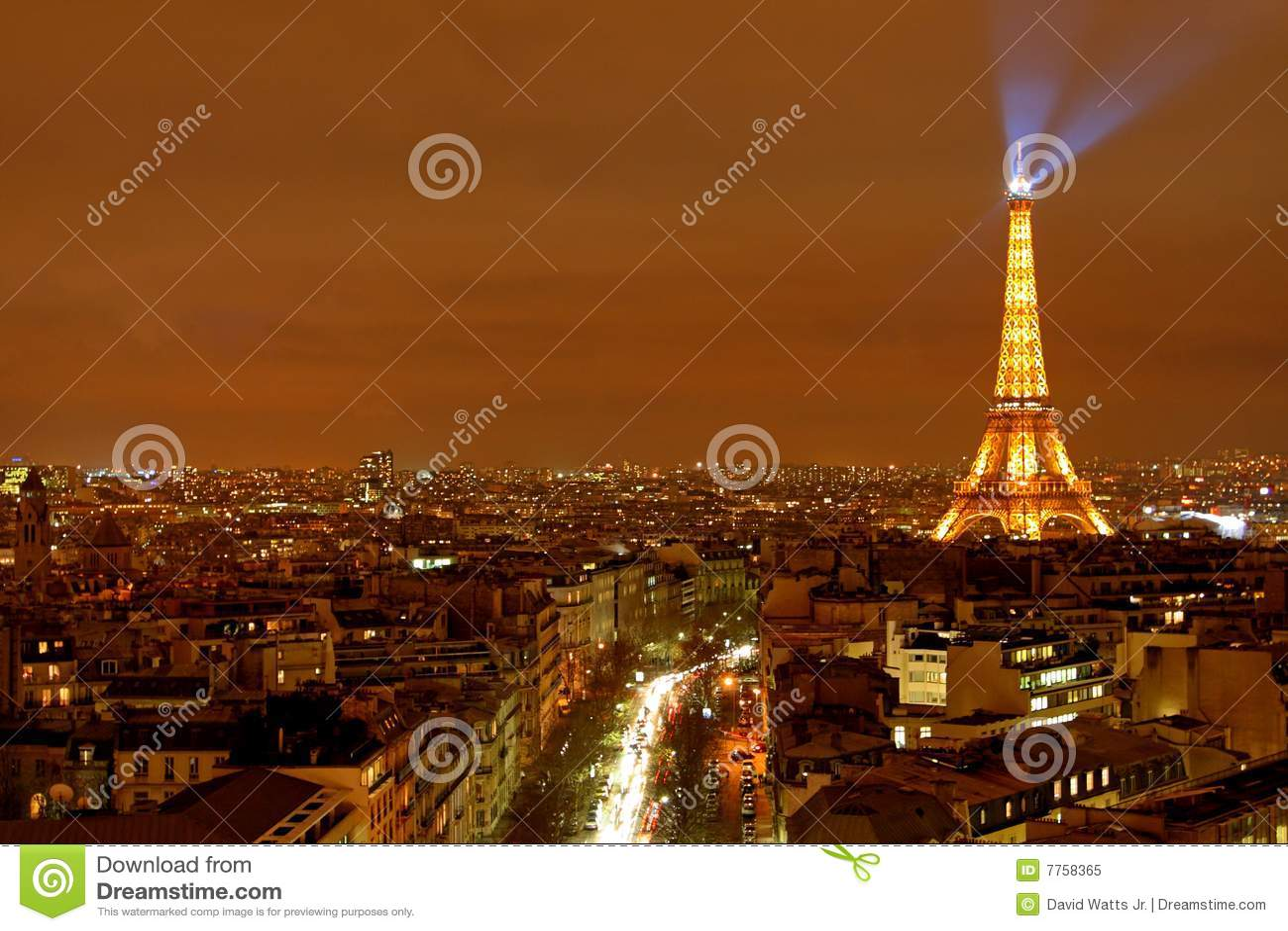 Miasta Paris widok