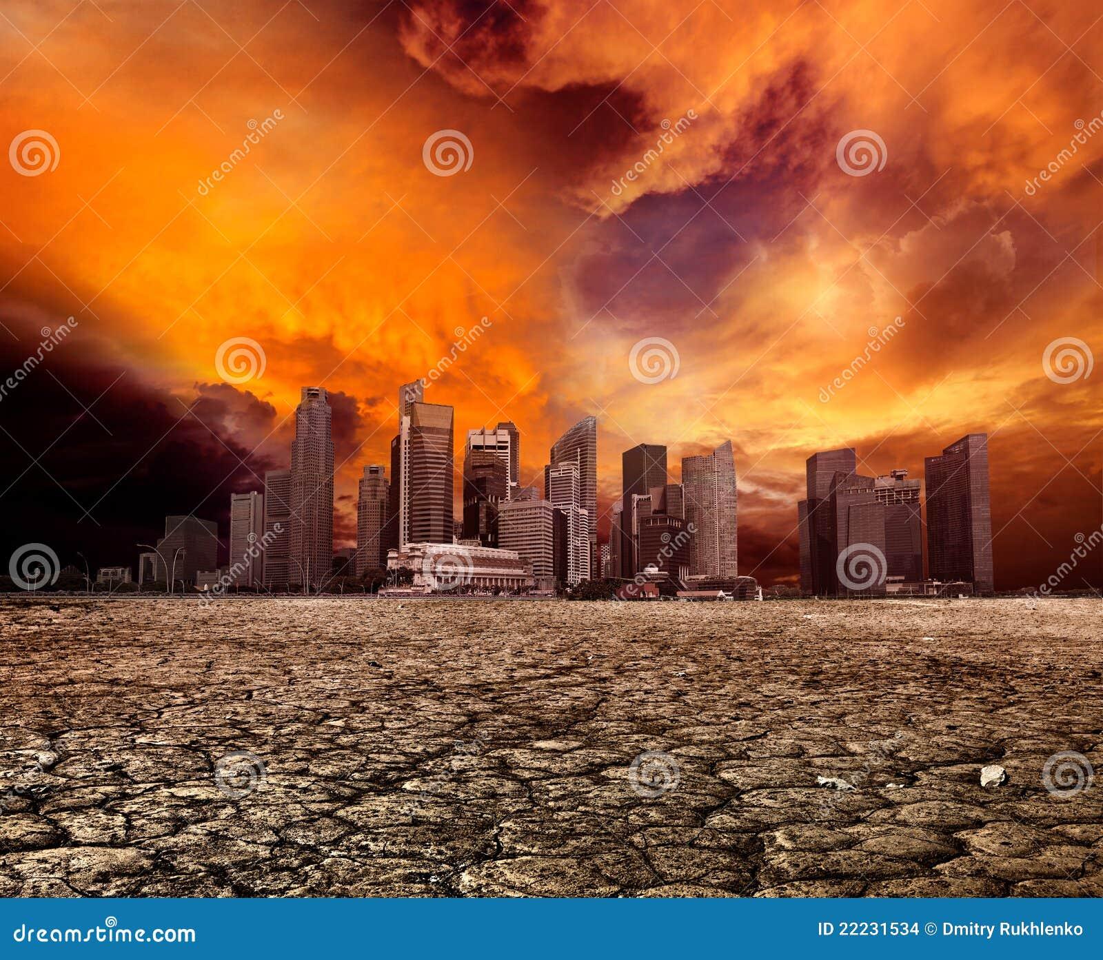 Miasta target144_0_ zdewastowany krajobrazowy