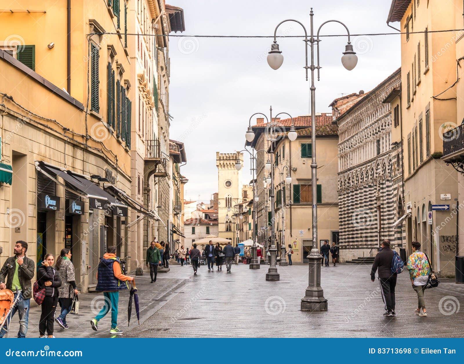 Miasteczko Pistoia Włochy