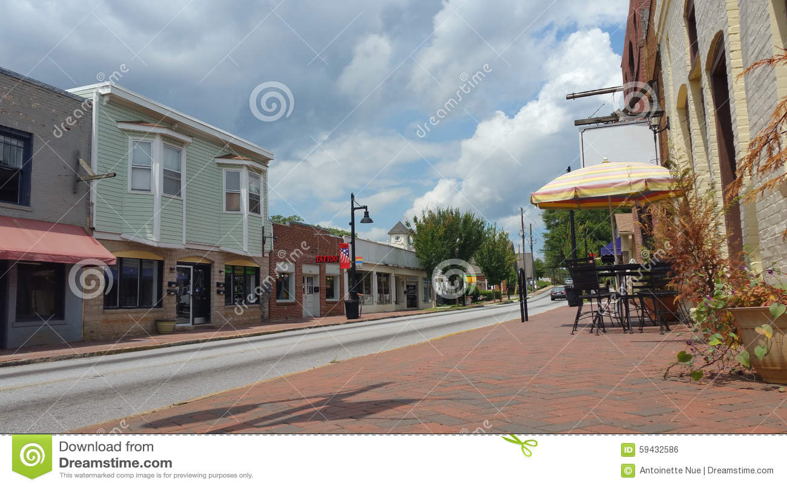 Miasteczko ulicy usa