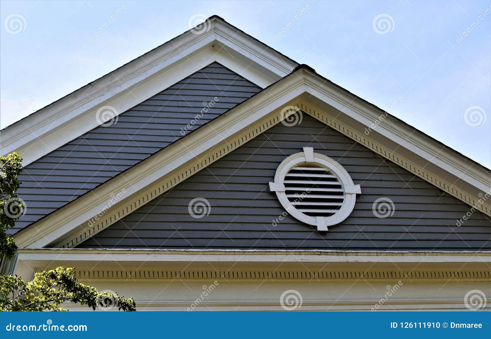 Miasteczko zgoda, Middlesex okręg administracyjny, Massachusetts, Stany Zjednoczone architektura