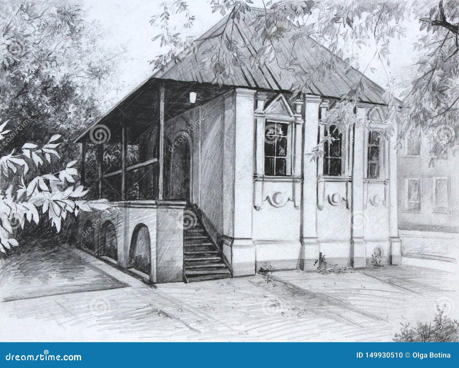 Miasto architektury Saransk rysunek