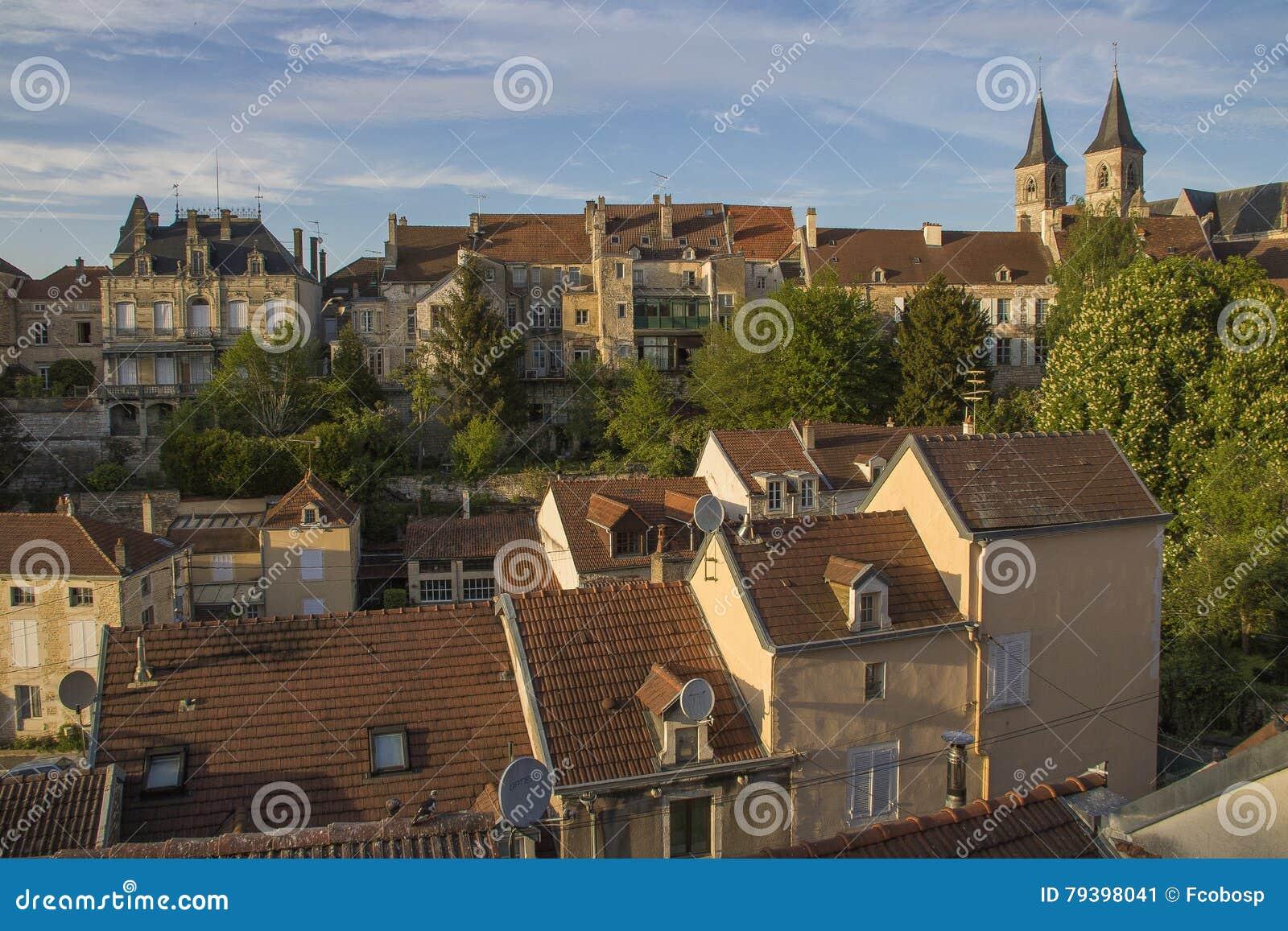 Miasto Chaumont, Francja