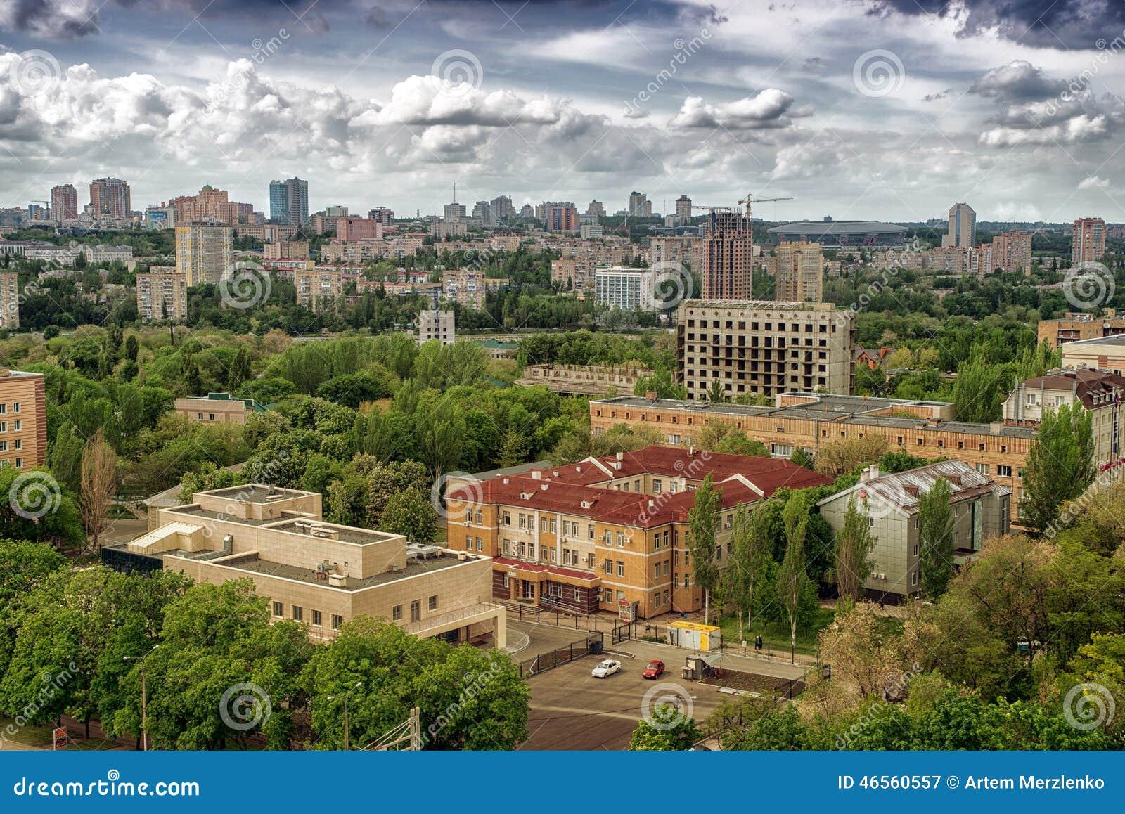 Miasto Donetsk, Ukraina