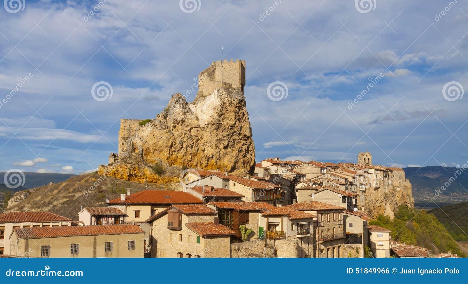 Miasto Grodowy Frias jest hiszpańszczyzny