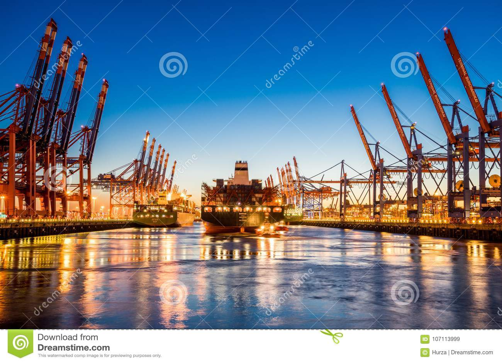 Miasto Hamburg, Niemcy