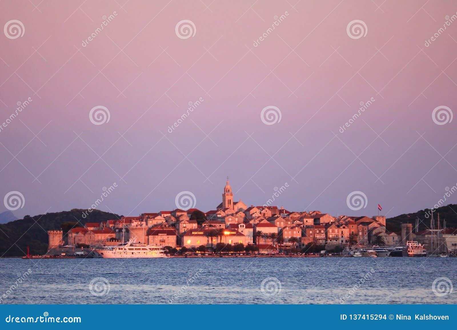 Miasto Korcula w Chorwacja