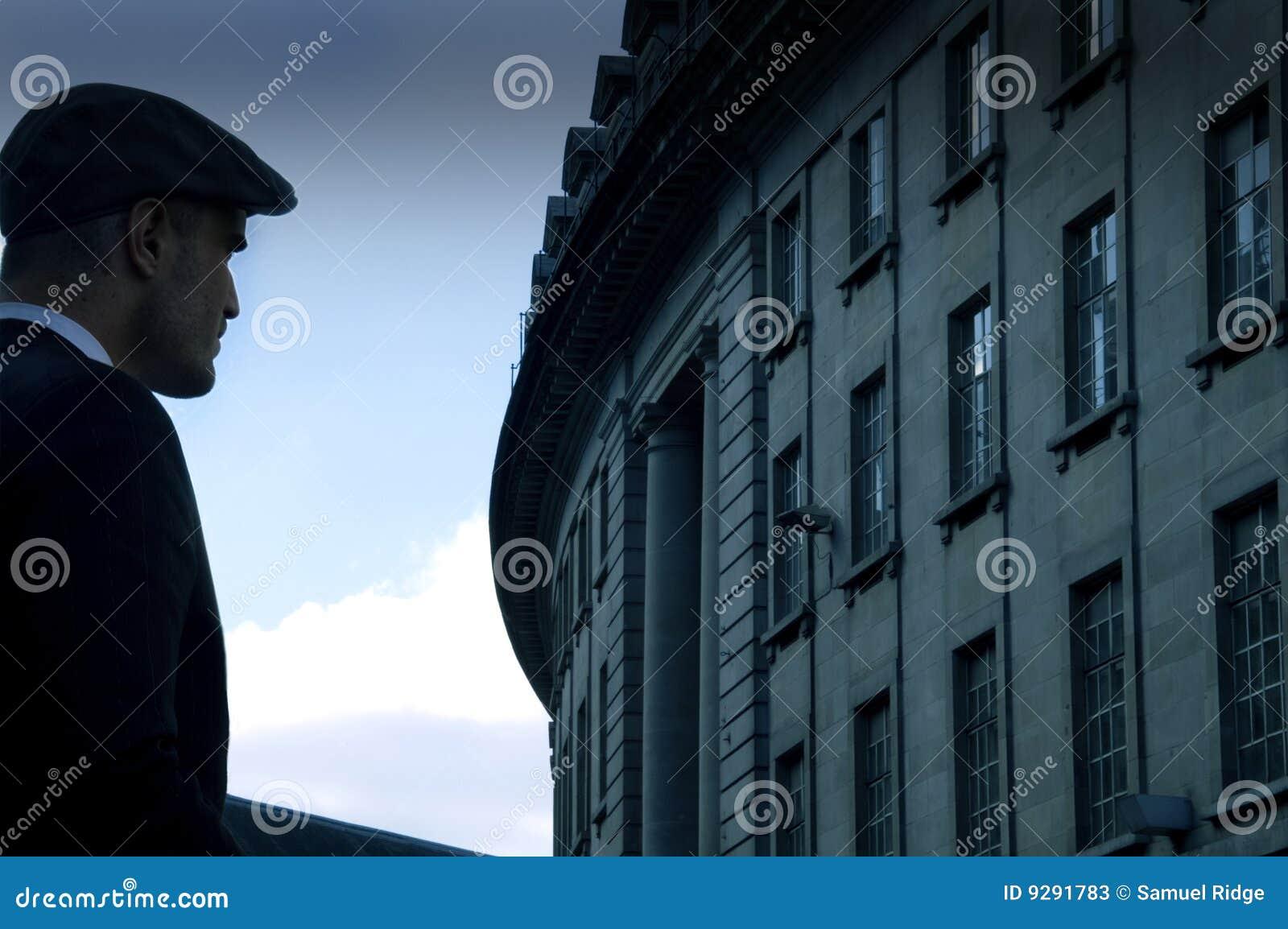 Miasto mężczyzna