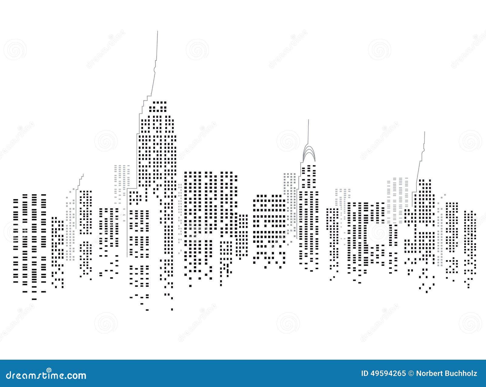 Miasto nowa linia horyzontu York