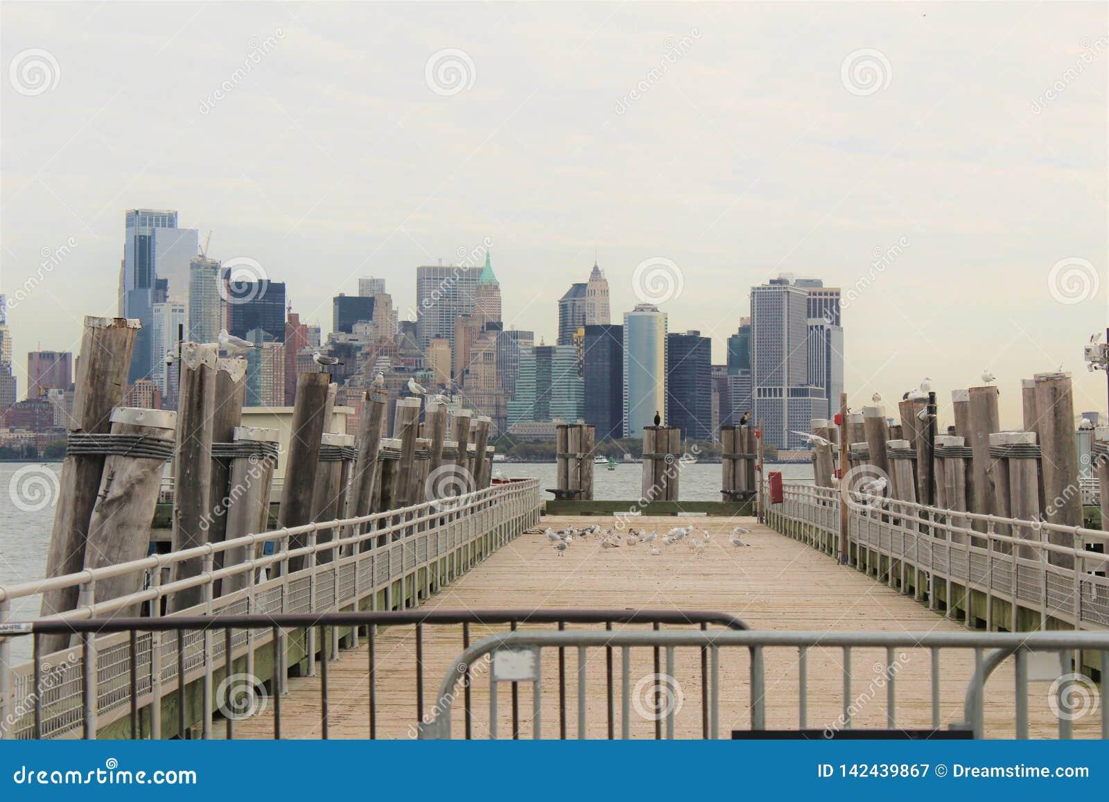 Miasto Nowy Jork dok