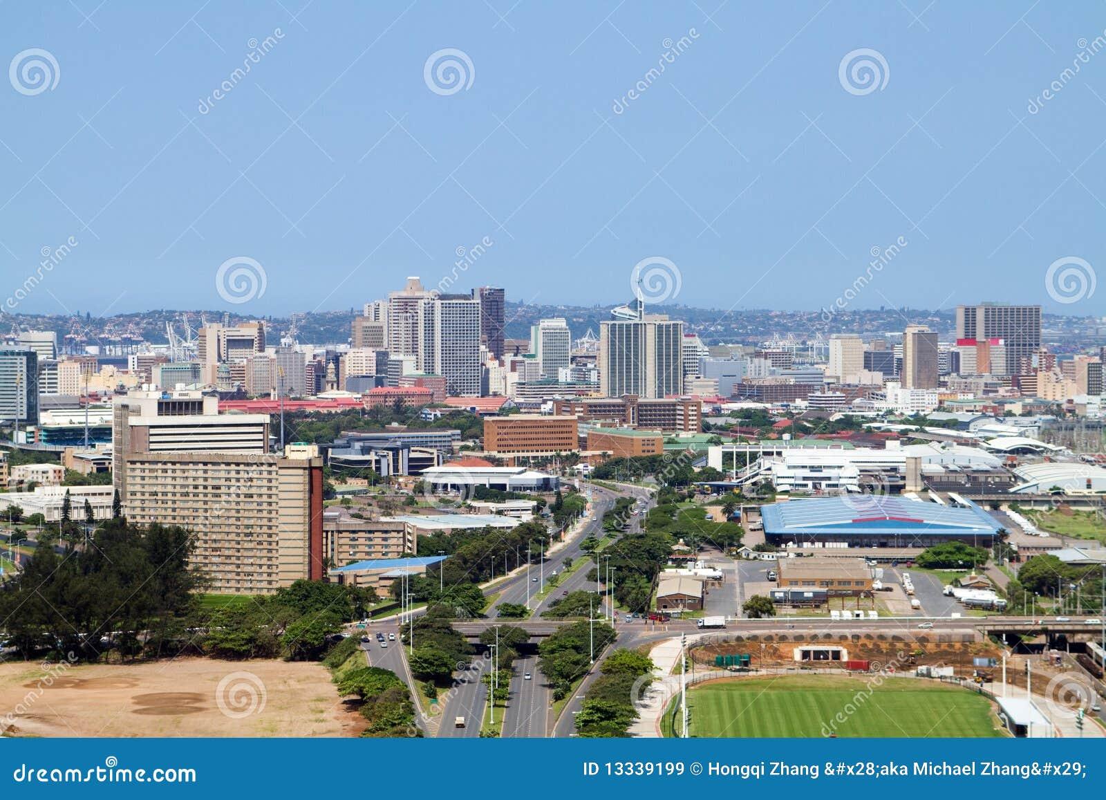 Miasto powietrzny widok