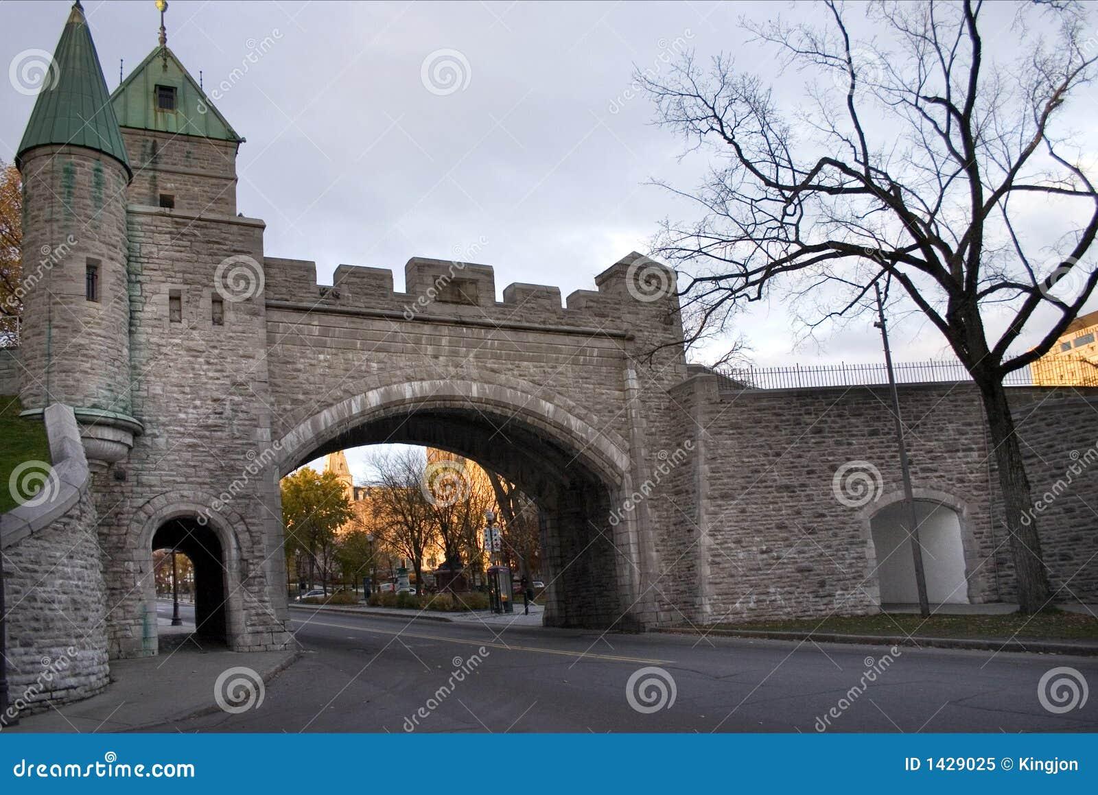 Miasto Quebec do ściany