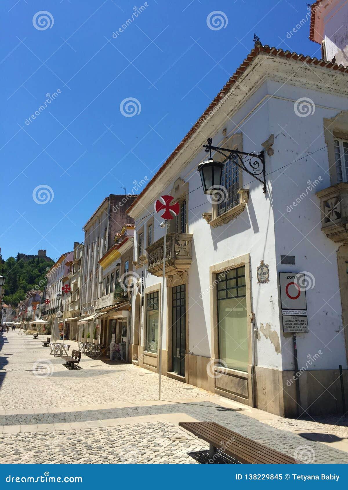 Miasto Tomar Portugalia