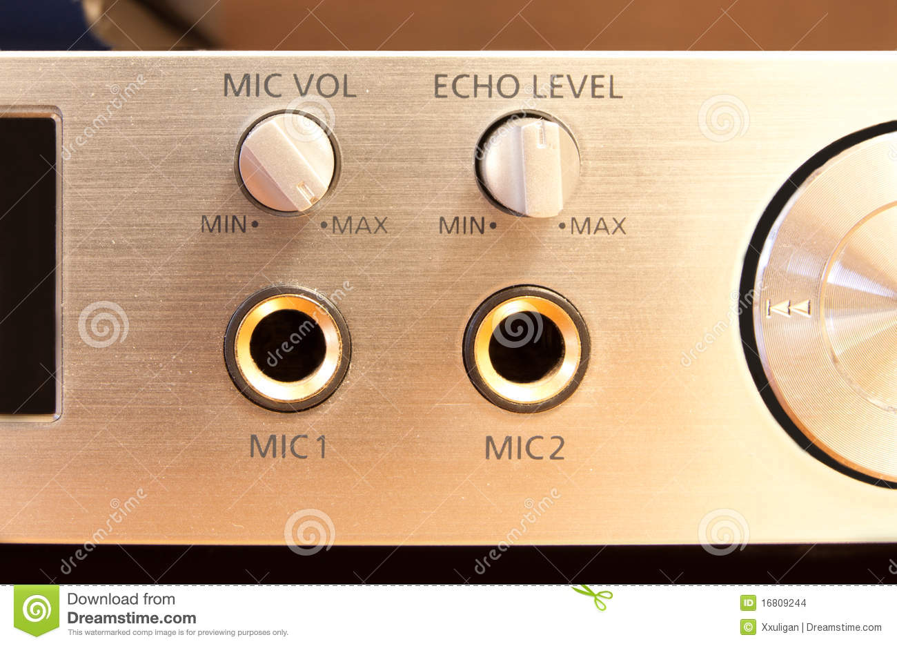 Mic stock photo  Image of player, microphone, electronics