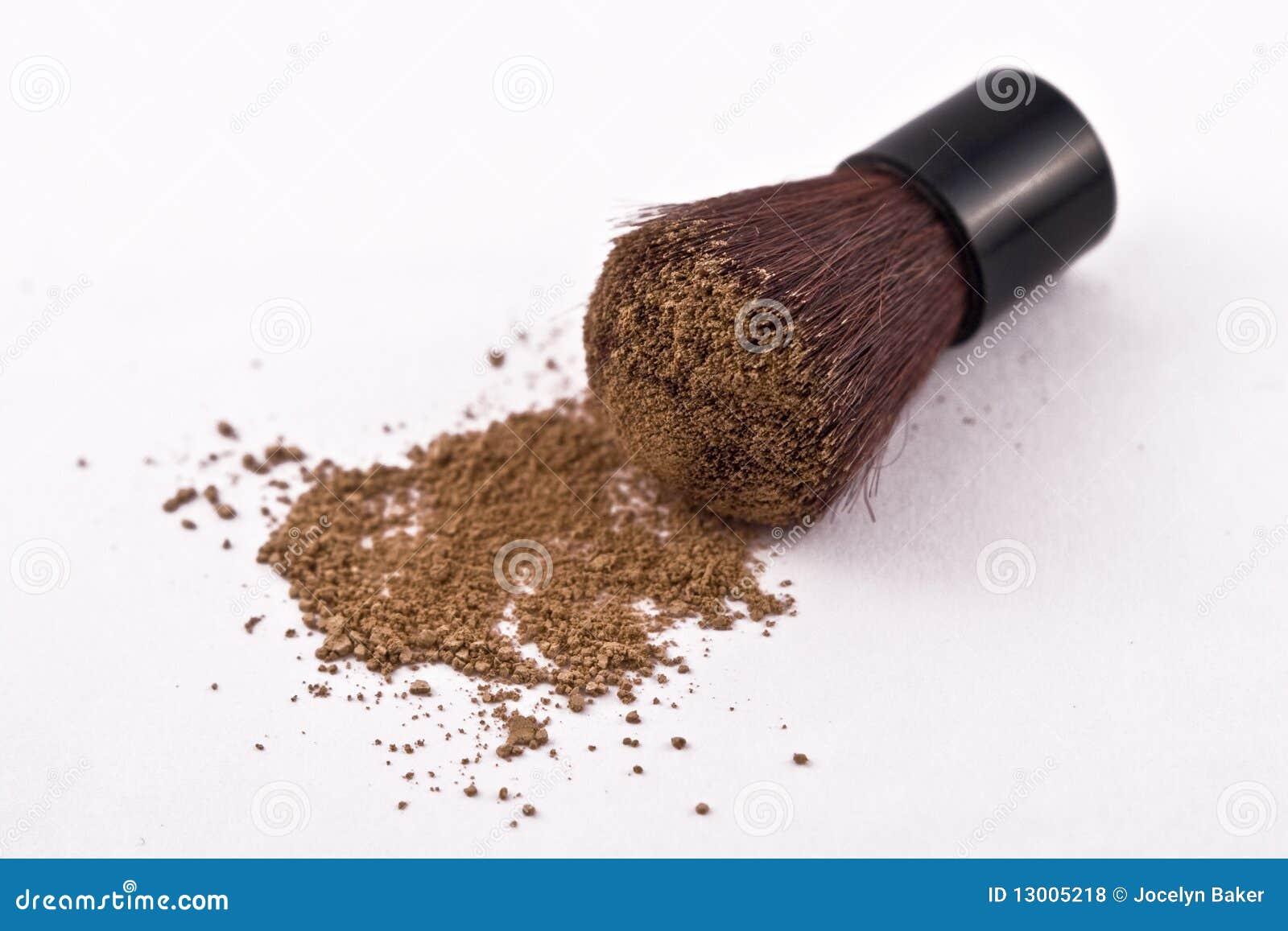 Mica Powder Cosmetics with Brush.