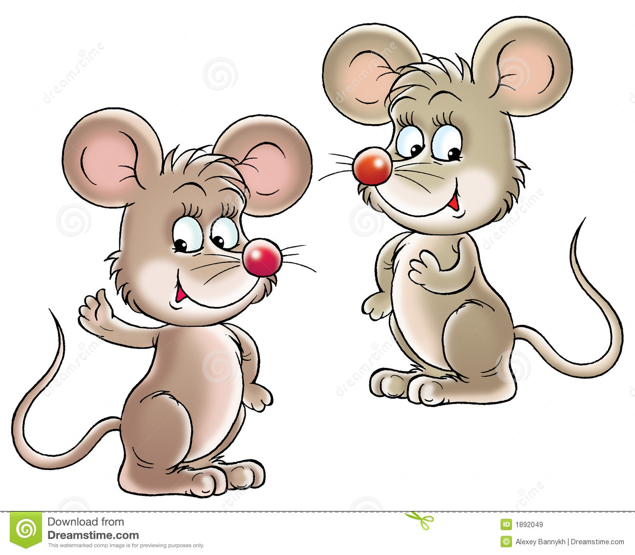 Mice Royalty Free Stock Images - Image: 1892049