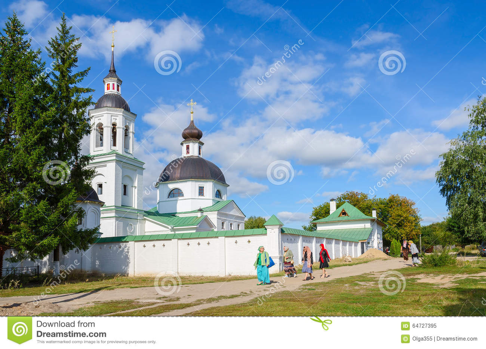 Michael die Erzengel-Kirche in Lazarevo nahe Murom, Russland