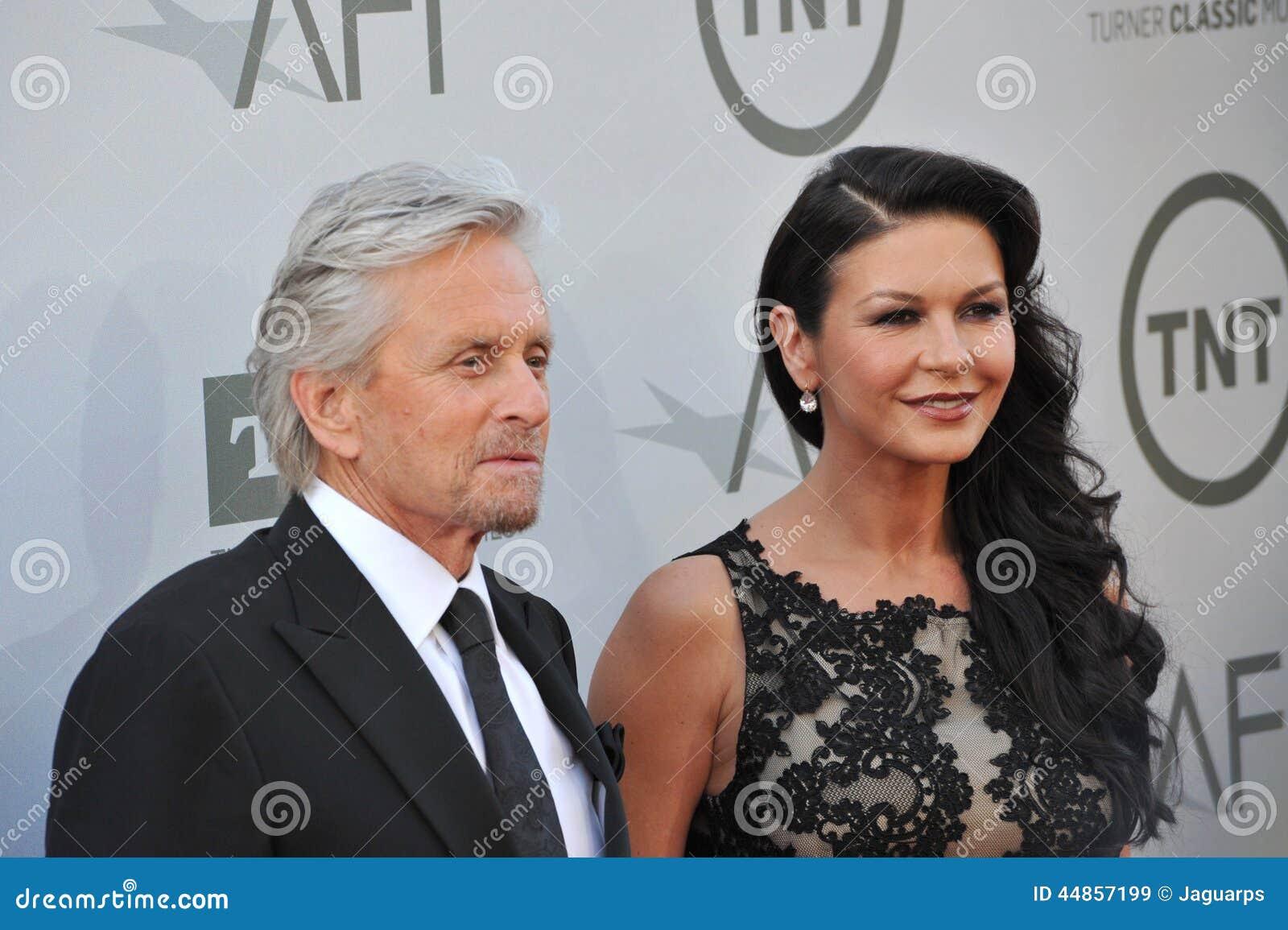 Michael Douglas y Catherine Zeta-Jones
