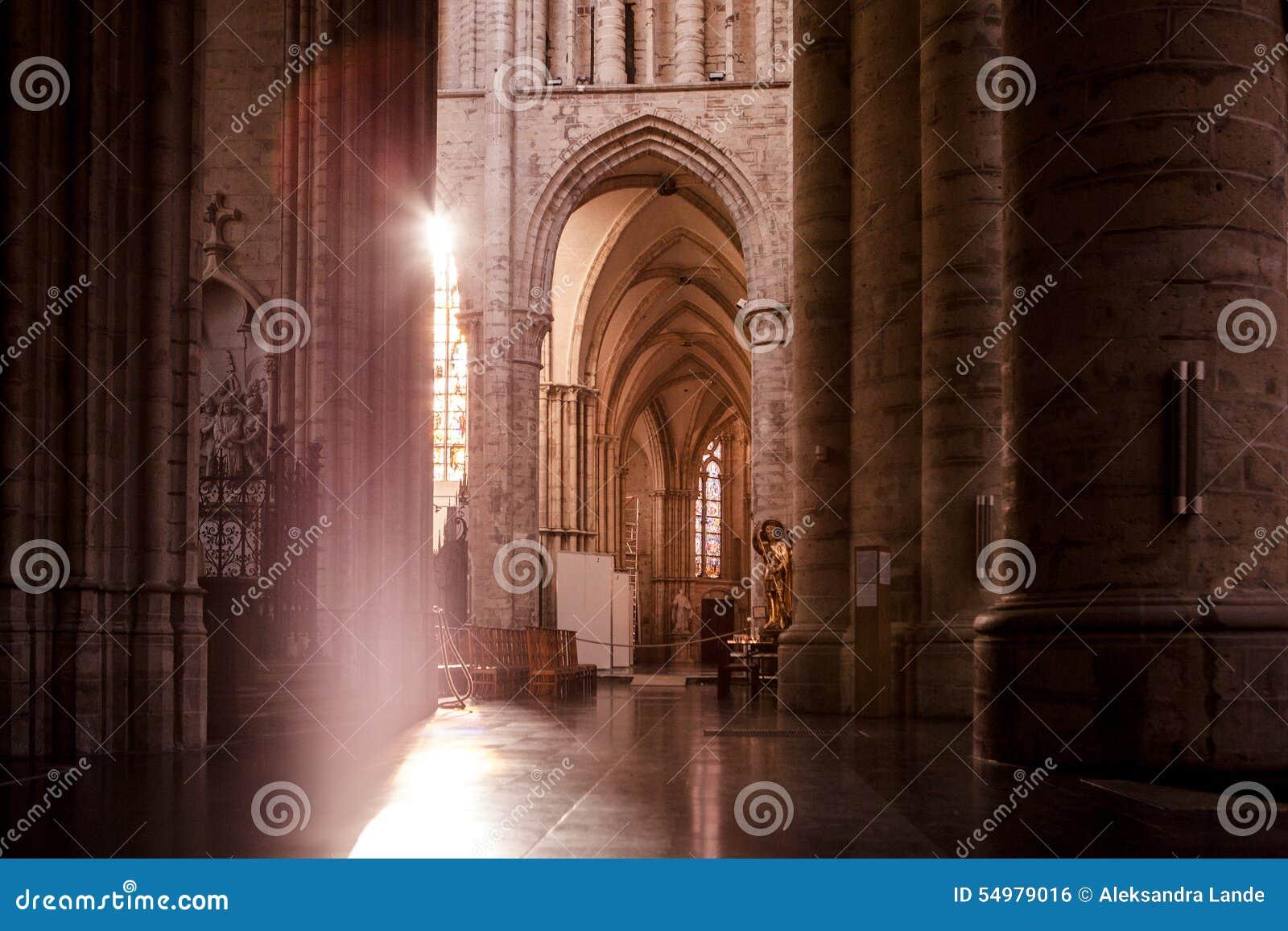 Michael för Belgien brussels domkyrkagudula st bryska