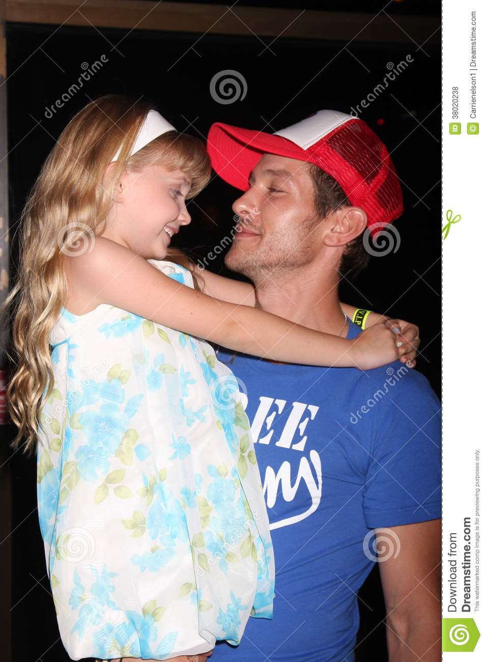 Michael Graziadei Samantha Bailey Editorial Stock Photo Image Of Young August 38020238
