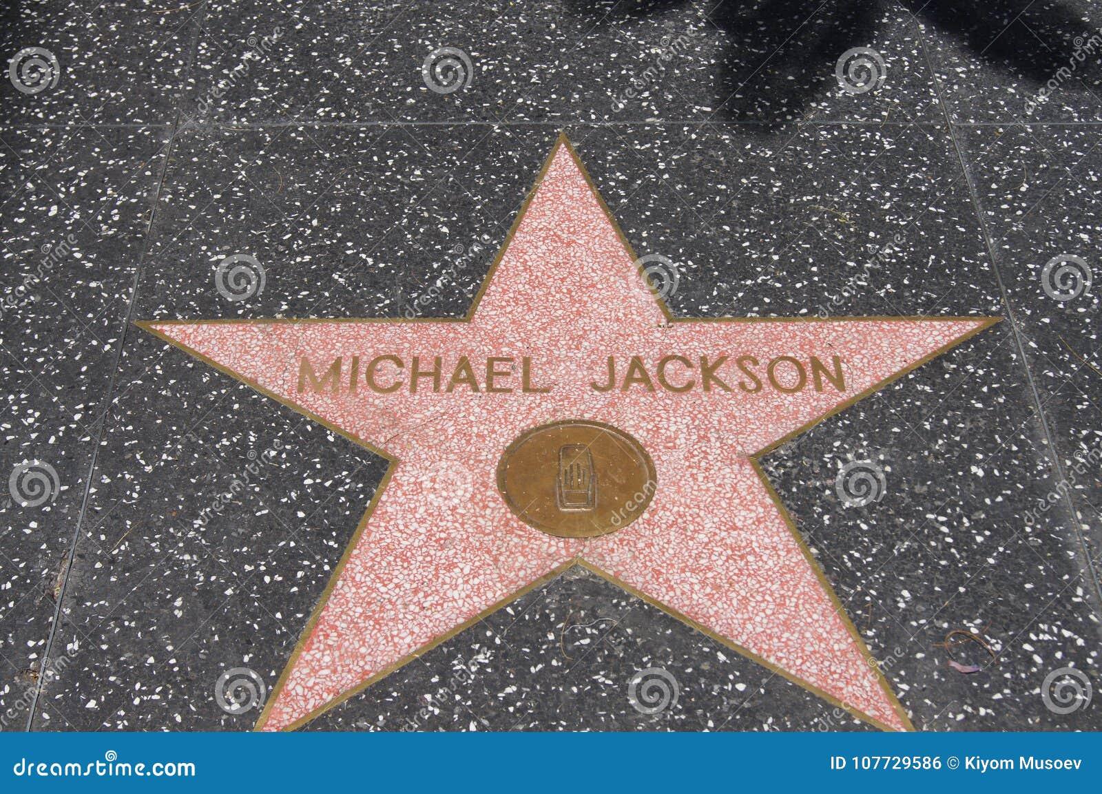 Michael Jackson, spacer sława