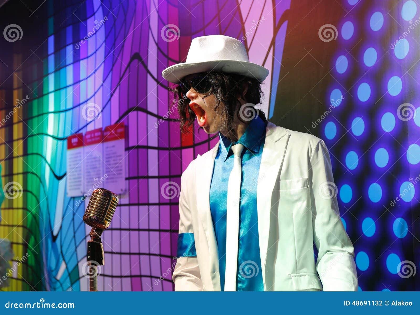 Michael Jackson, statua della cera, figura di cera, statua di cera