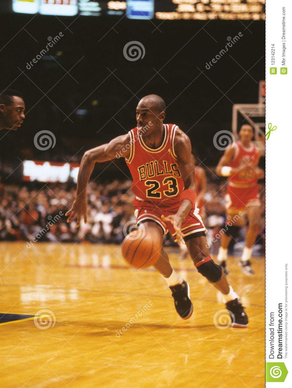 outlet store c457f 42715 Michael Jordan Chicago Bulls Editorial Stock Image - Image ...