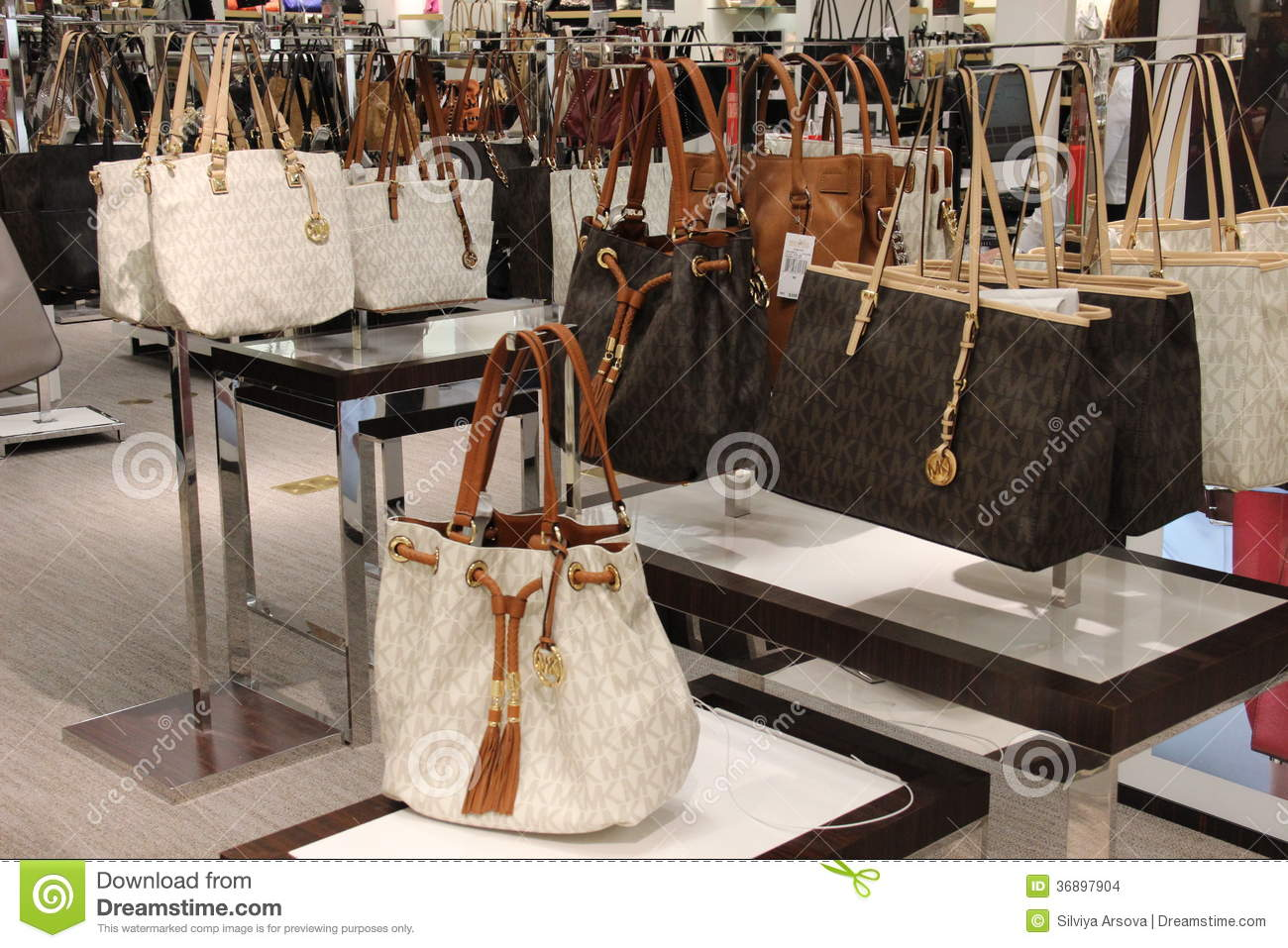 a91390e8d466 Michael Kors Handbag Fashion Store Editorial Stock Image - Image of ...