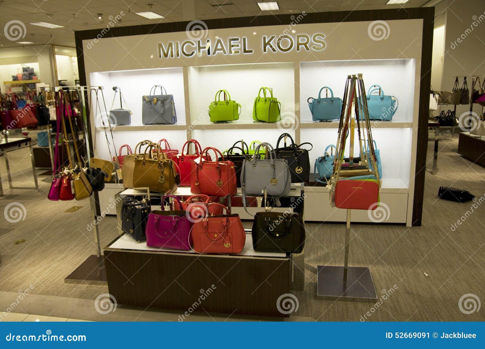michael kors outlet purses j62d  Michael Kors Handbags Department Store Editorial Photo