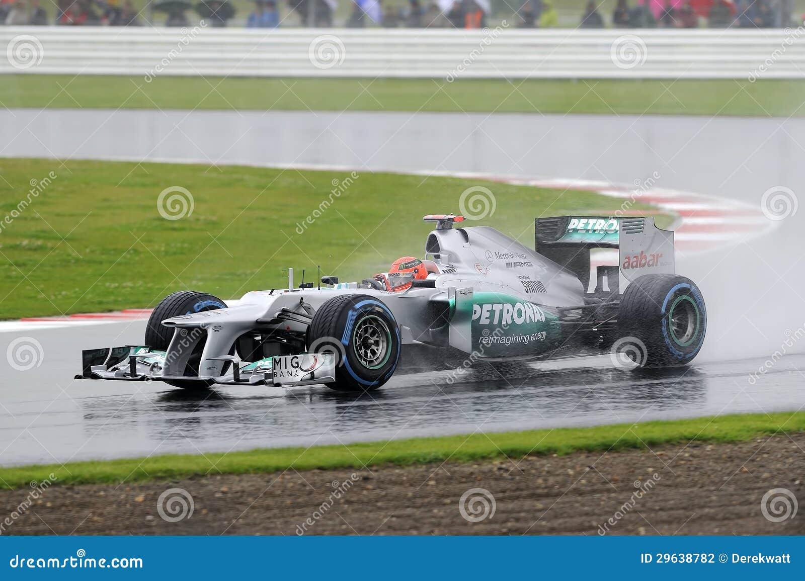 Michael Schumacher, Mercedes F1.