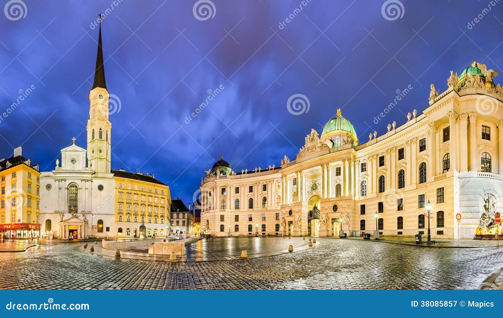Michaelerplatz em Viena, Áustria