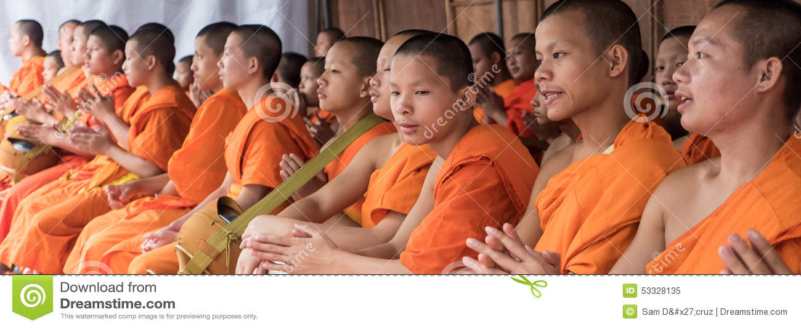 Michaelita datków ceremonia, Tajlandia