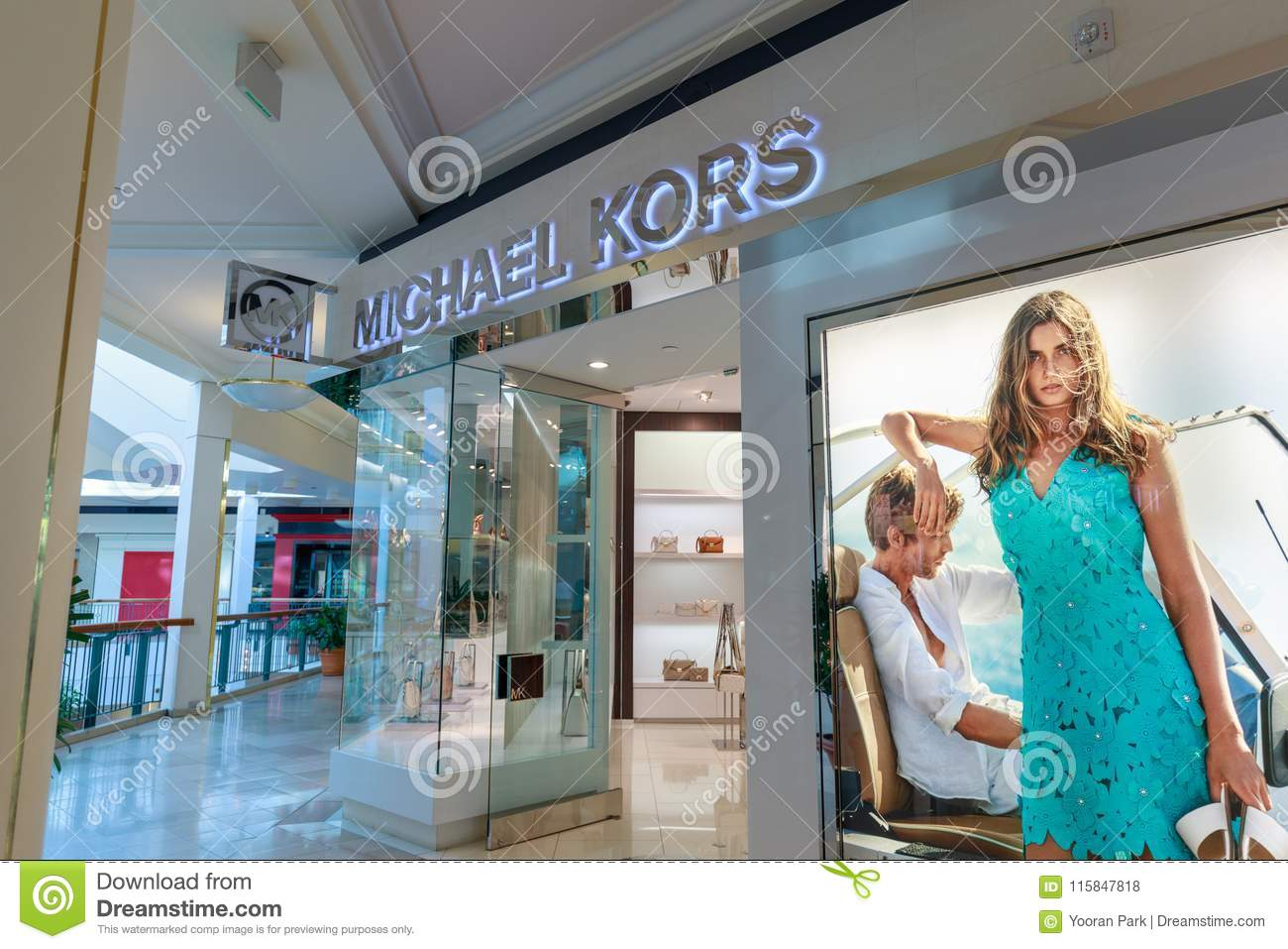 Michaels Kors Shop At Pioneer Place Shopping Mall In Downtown Portland Editorial Stock Photo Image Of Shopping Items 115847818